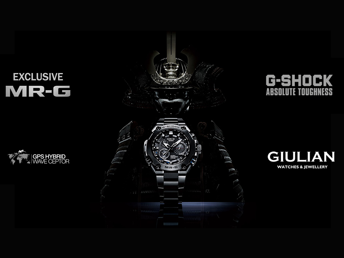 New Casio models exclusive to GIUlLIAN in Bulgaria