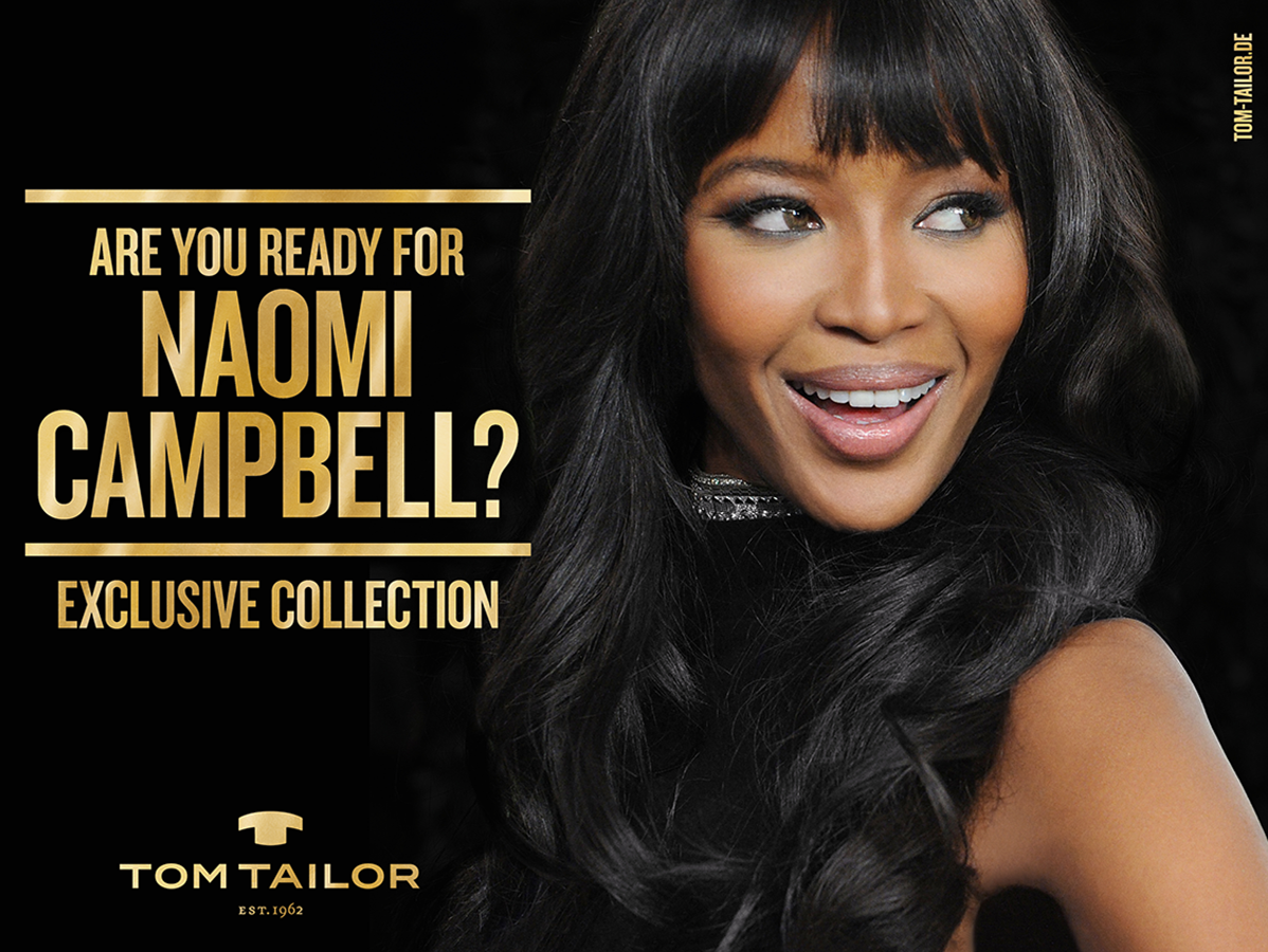 Naomi Campbell x TOM TAILOR