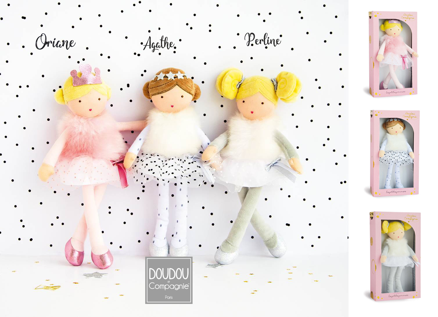 Miss Precious series at DOUDOU et Compagnie