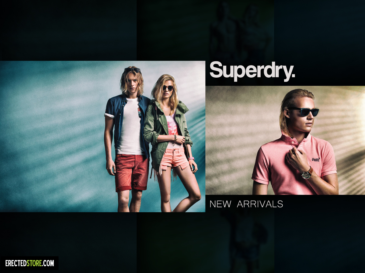 Superdry SS16 в магазин Totally Erected Store