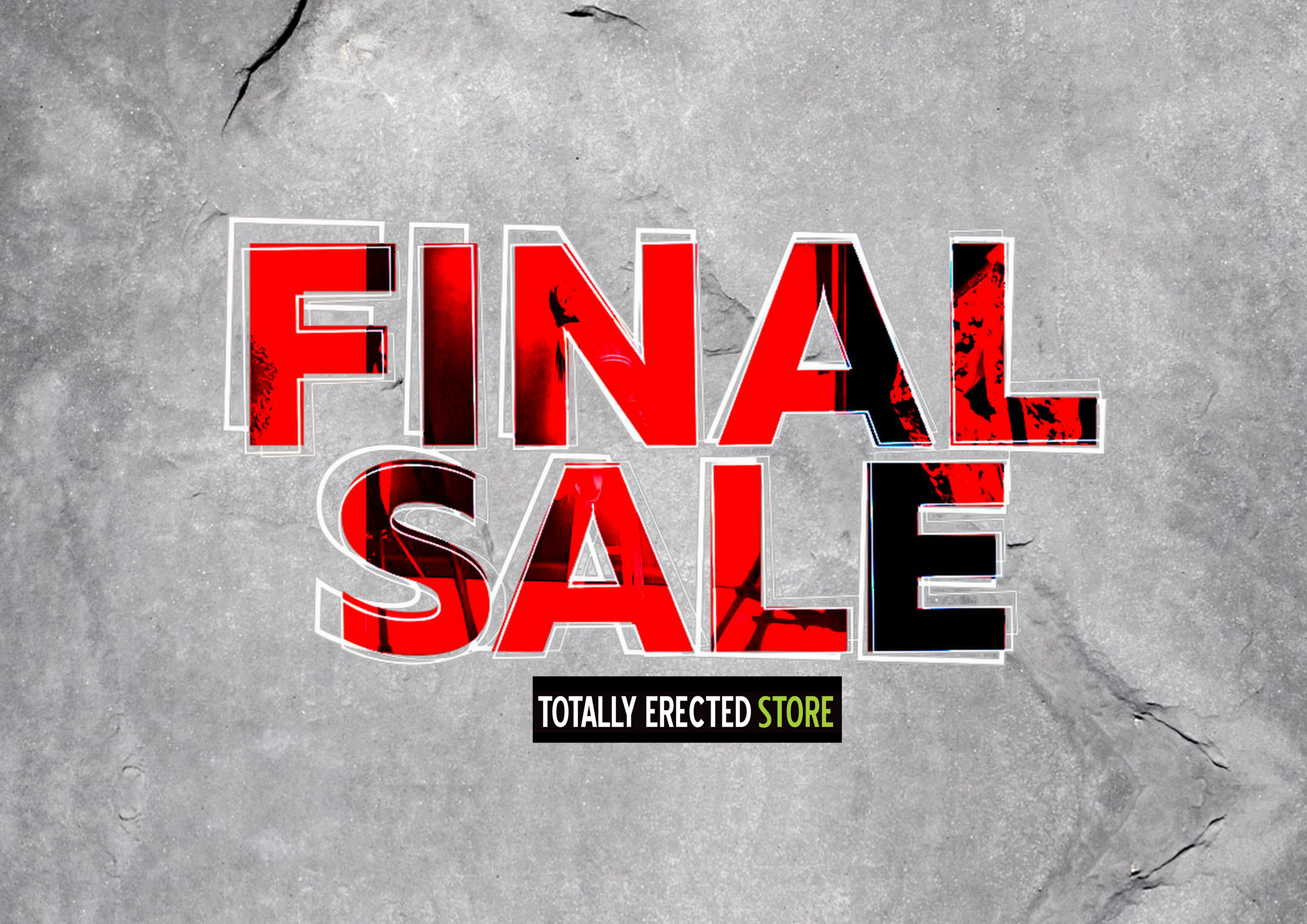 FINAL SALE – TOTALLY ERECTED STORE