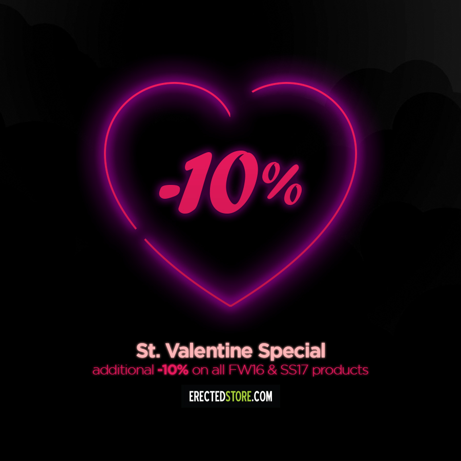 10 % St.Valentine special – TOTALLY ERECTED STORE