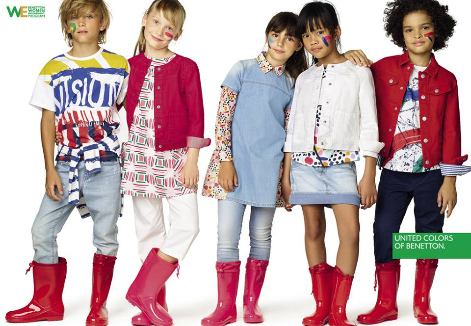 Нова колекция в Benetton Kids