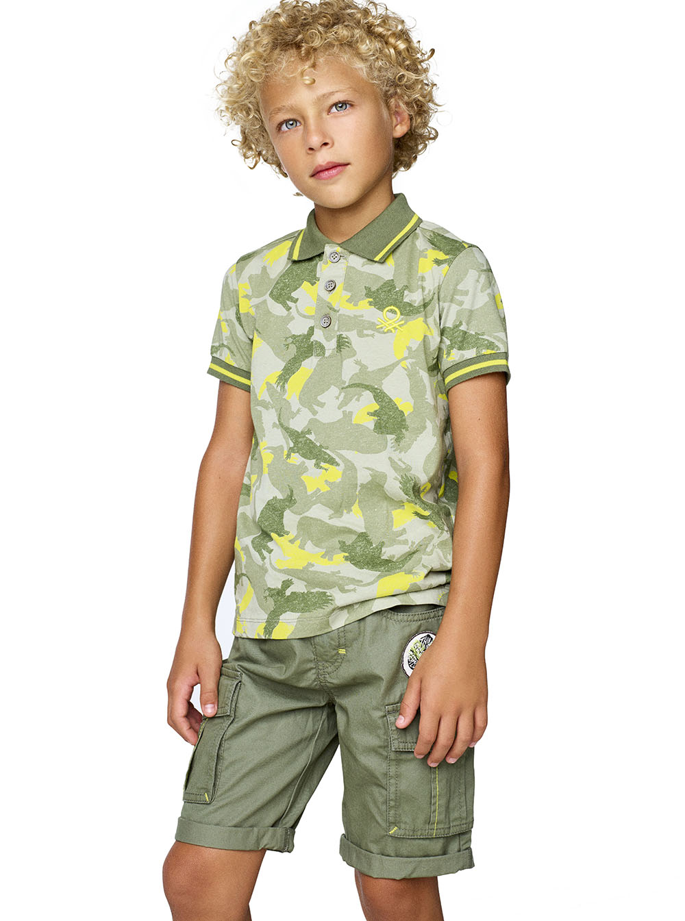Green Roots & Dress Safely с  Benetton Kids