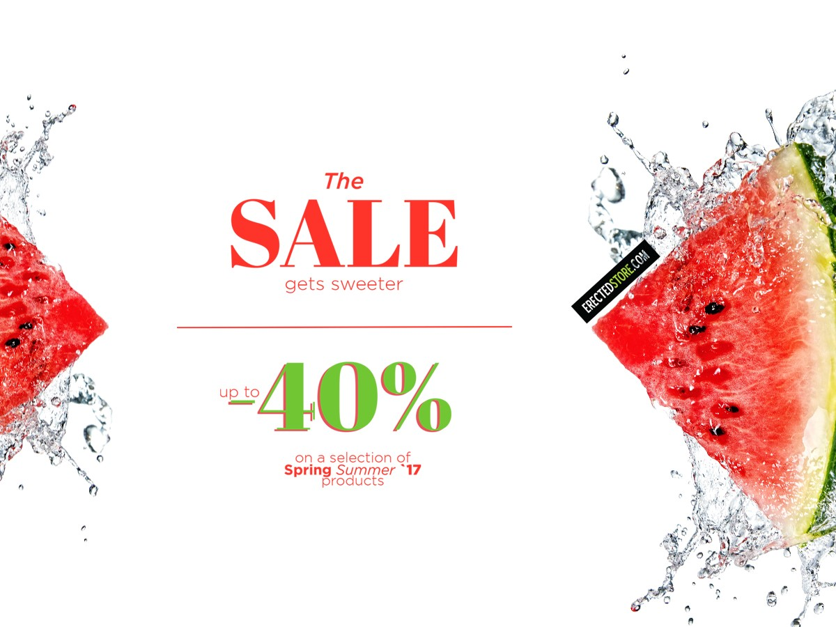 40% SALE – Totally Erected Store