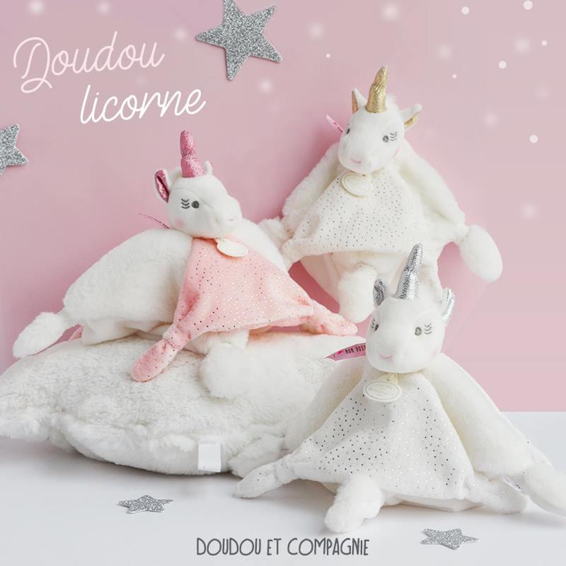Ново от Doudou et Compagnie, Paris – еднорози за гушкане