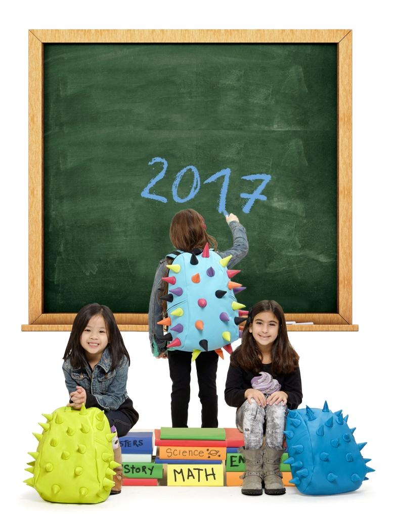 New colorful school backpacks Samsonite. Friendly for your children's back.