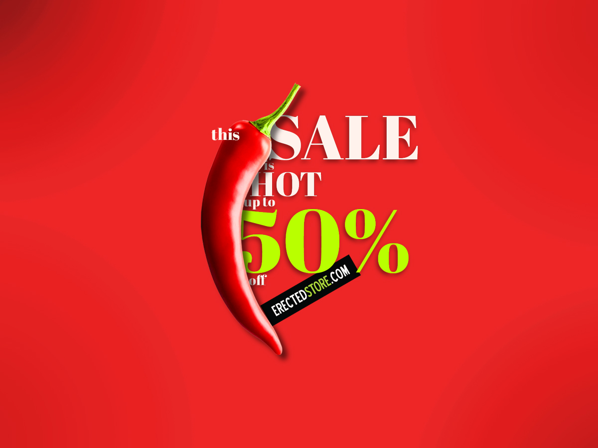 50% SALE – Totally Erected Store