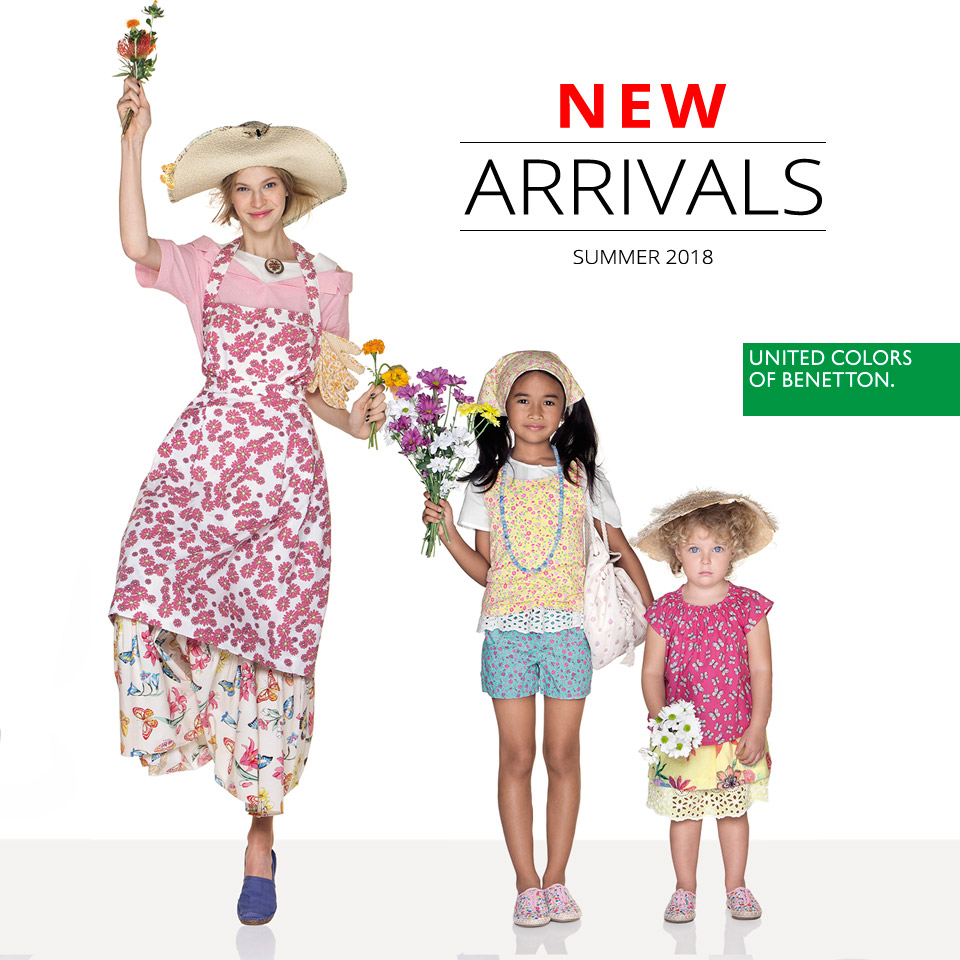 New summer collection at Benetton
