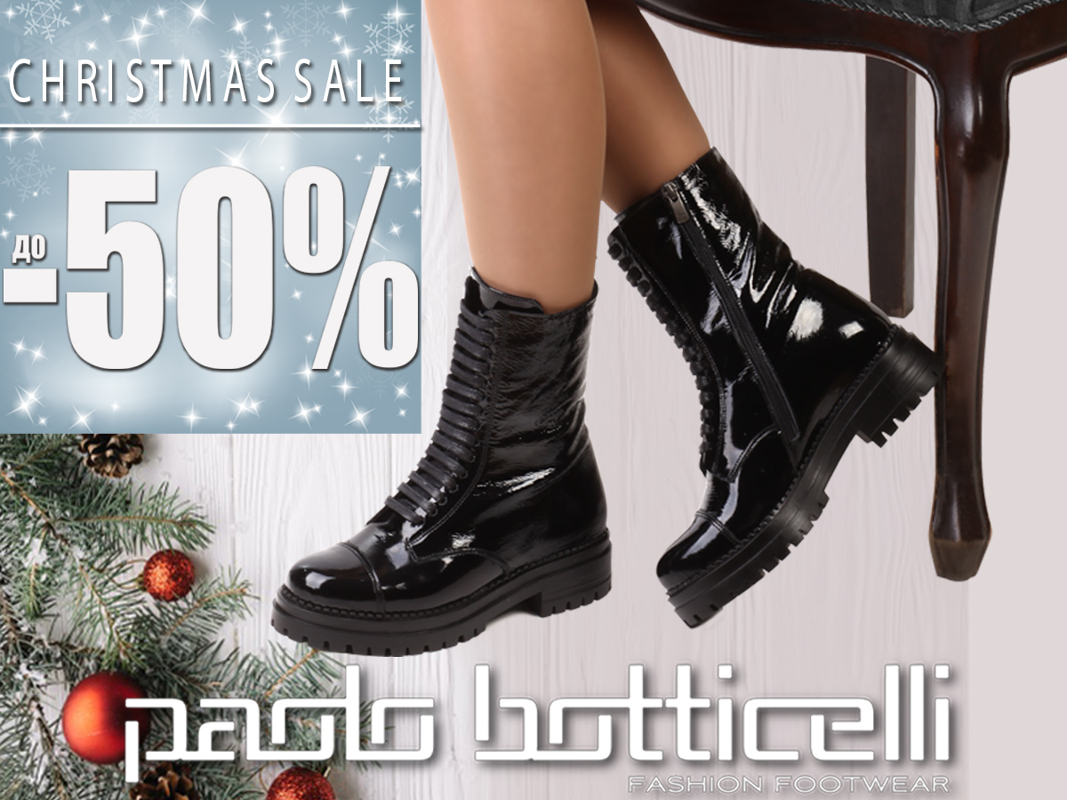 Christmas SALE at Paolo Botticelli -50%