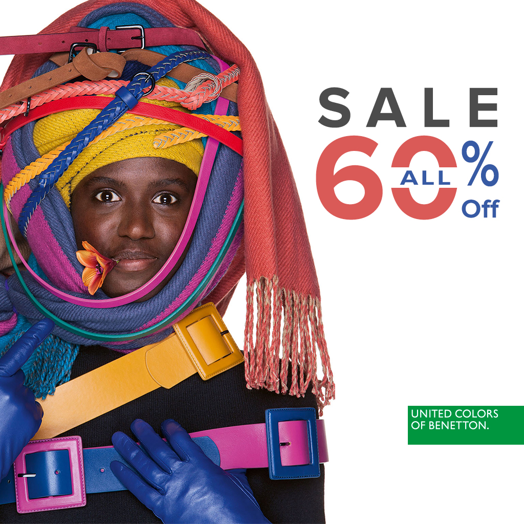 Up to 60% discount in Benetton - Mall Plovdiv EN 0098b031920