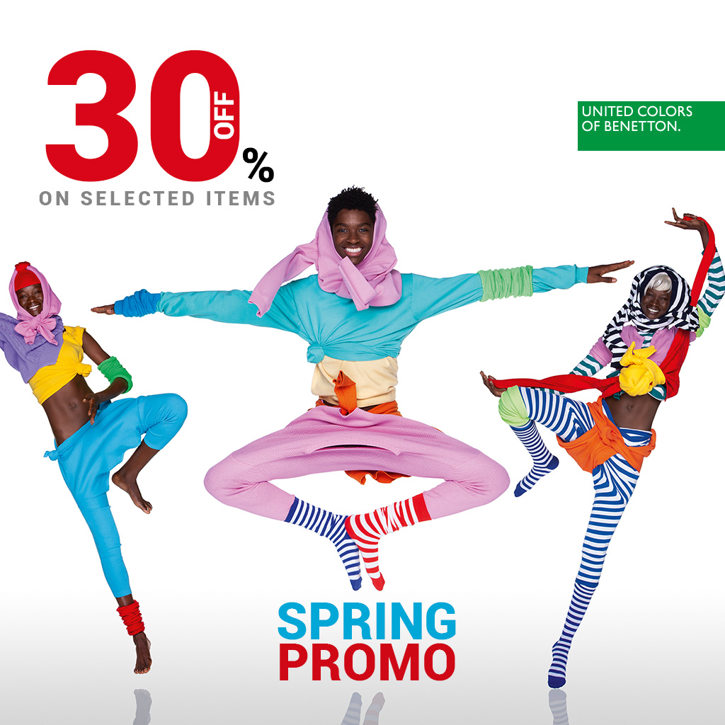 SPRING PROMOTION -30% 🛍 at Benetton