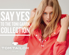 New exclusive collection by TONI GARRN at Tom Tailor