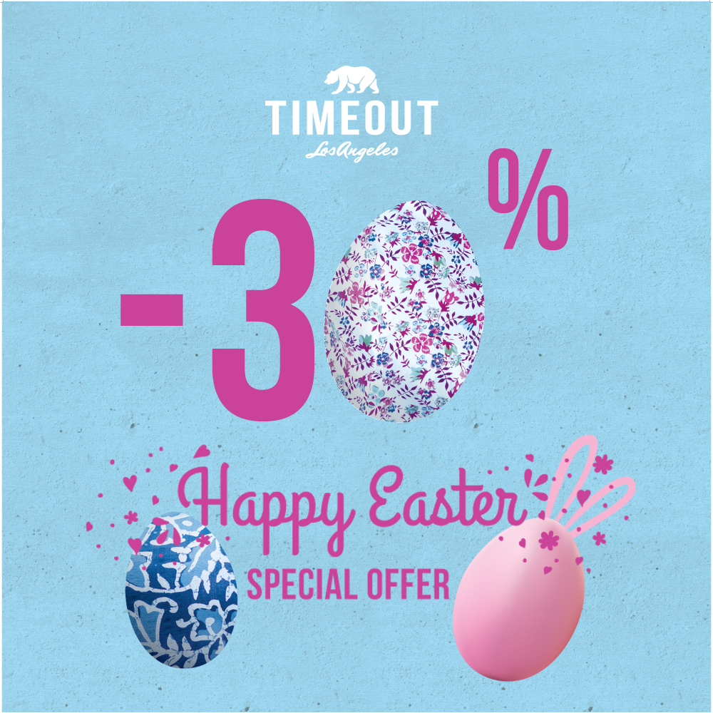Easter Promotion at TIMEOUT