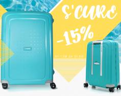 Samsonite – 15% discount in August