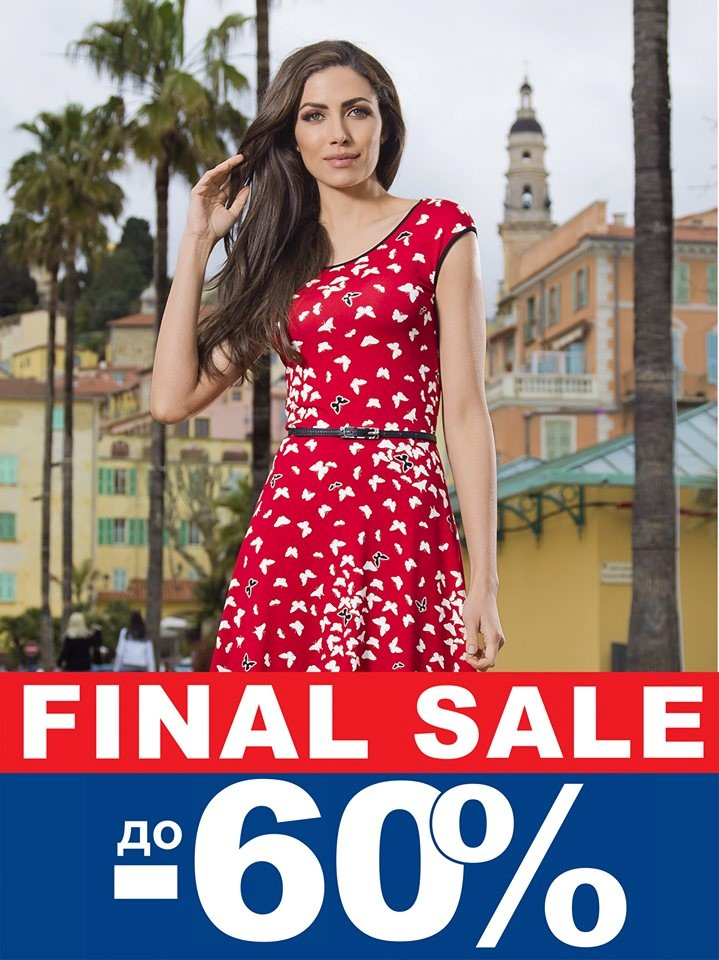 Final sale of summer collection in DAPHNE