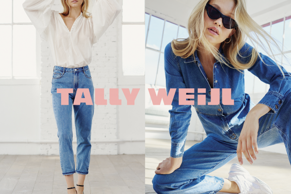 TALLY WEiJL – 50% off the value of a second item purchased