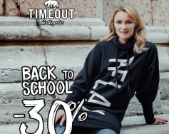Back to school with 30% discount from TIMEOUT