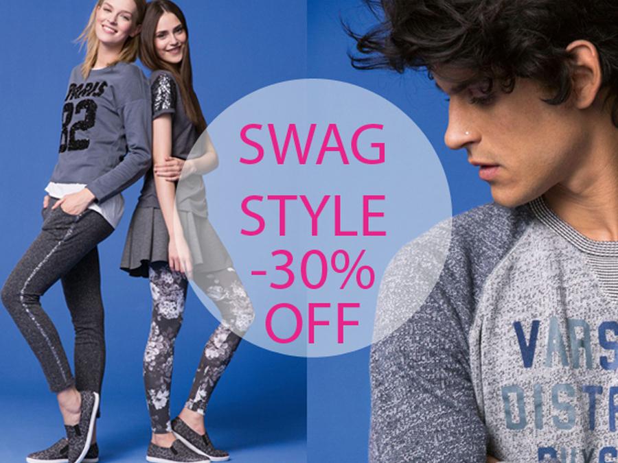30% намаление на Swag Style в магазин BENETTON