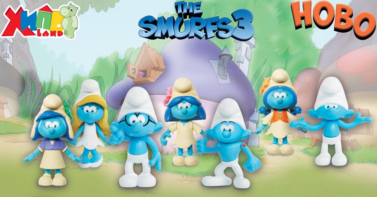 Героите от Peppa Pig и The Smurfs 3 са вече в Hippoland