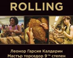 Навиване на пури на живо в Mall Plovdiv Premium Cigars & Tobacco