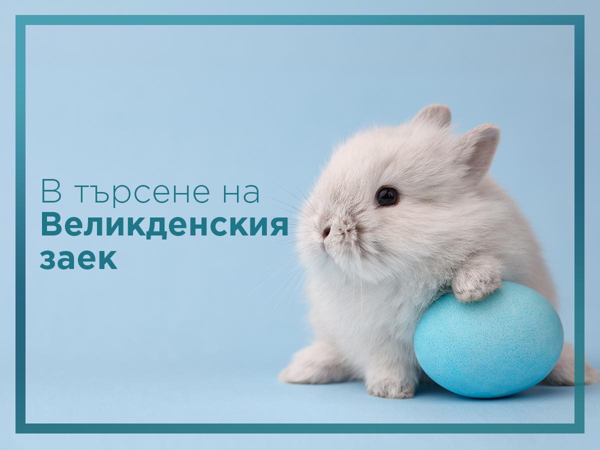 В търсене на Великденския заек в Mall Plovdiv