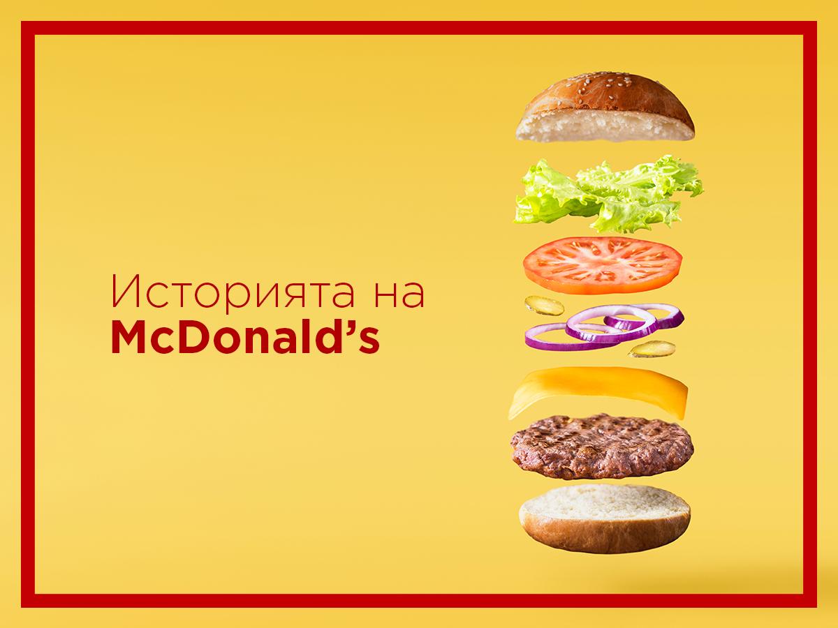 Историята на McDonald's