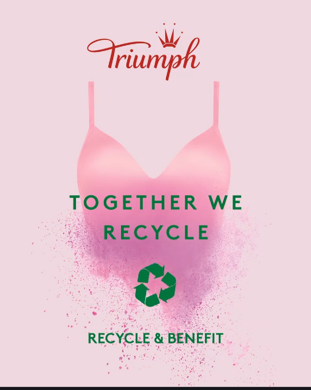 #TOGETHERWERECYCLE♻️🌿 – Triumph