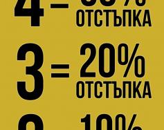 Купи повече – Плати по-малко в KVL by Kenvelo
