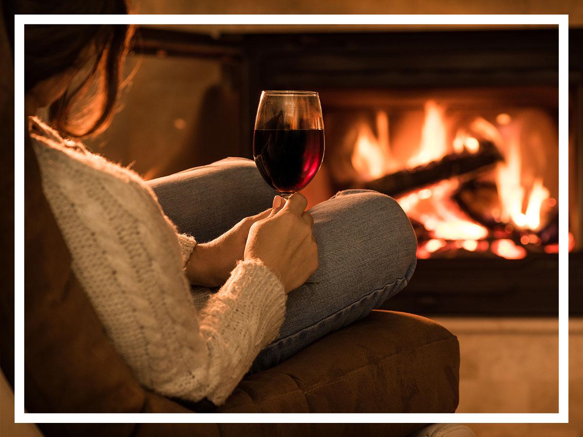 Червеното вино – най-подходящата напитка за зимата