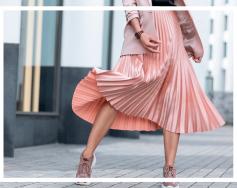 Дългите поли: как да ги носим?