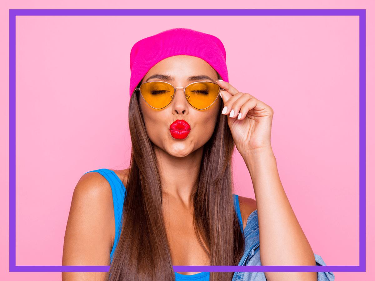 Как да се гримираме, когато носим очила?