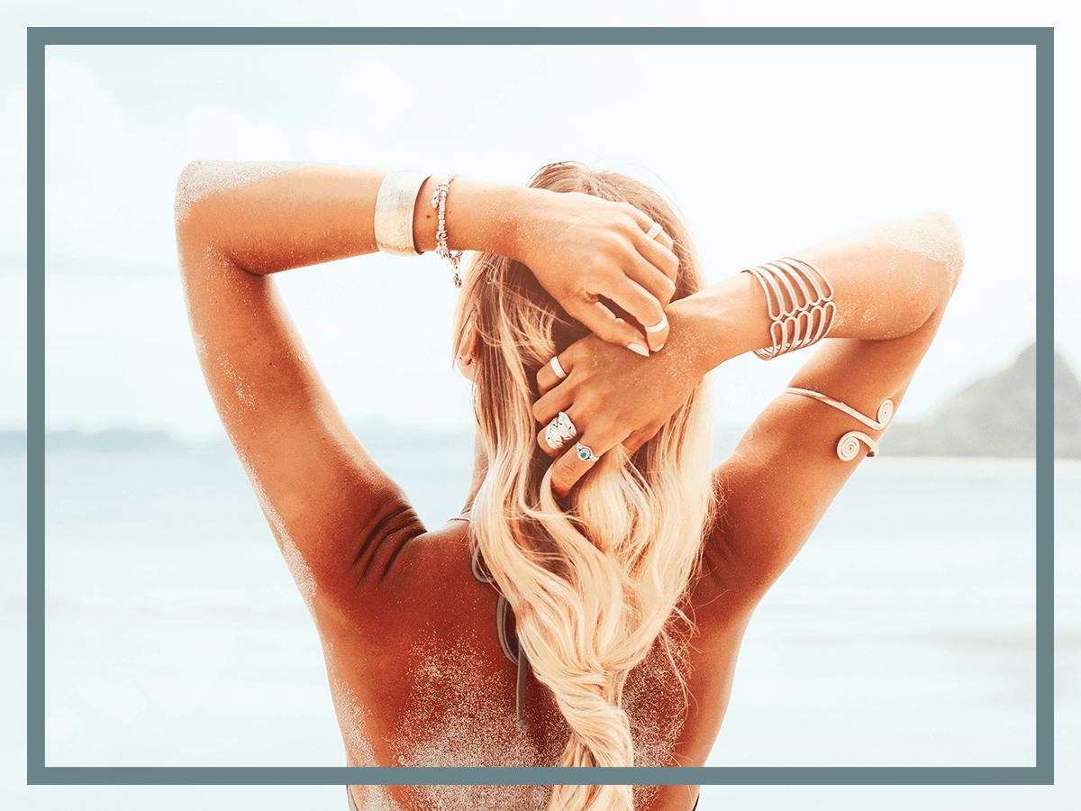 8 начина да се погрижим за кожата и косата си на плажа
