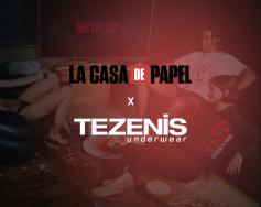 TEZENIS х LA CASA de PAPEL