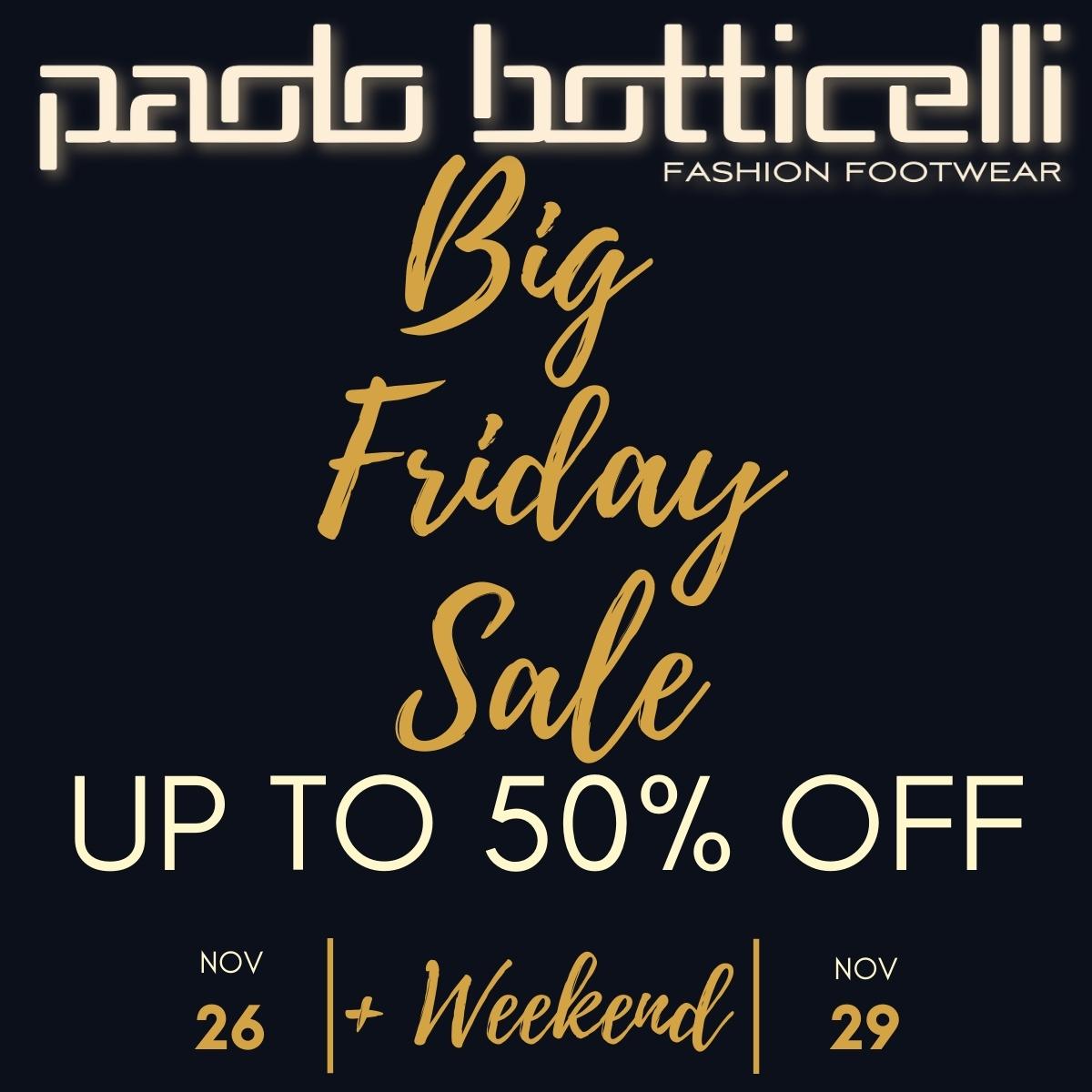 Black Weekend в Paolo Botticelli!