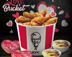 LOVE Bucket от KFC
