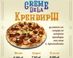 Пица на месеца от PizzaLab