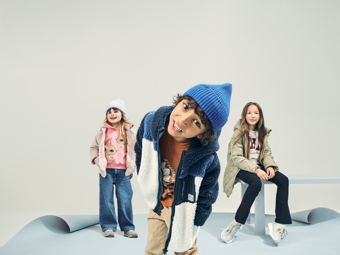 На училище с H&M и BTS Kids