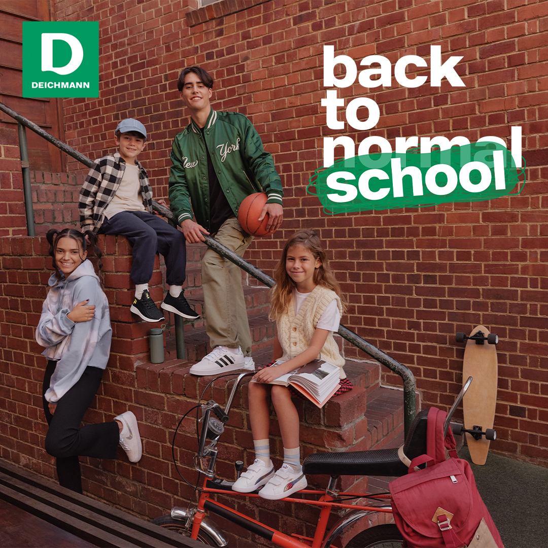 Обратно на училище с Deichmann