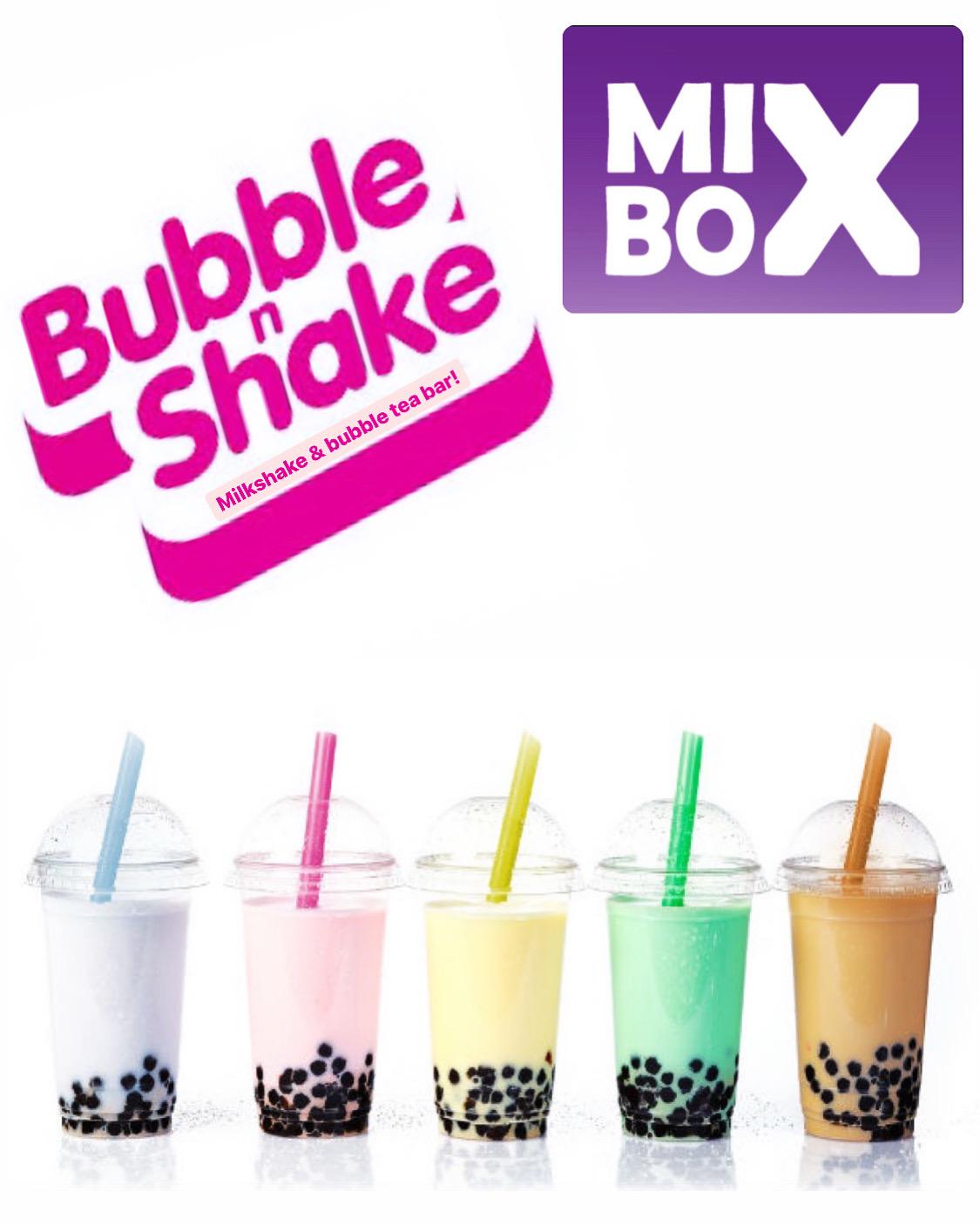 Bubble tea и bubble shake те очакват в MIXBOX
